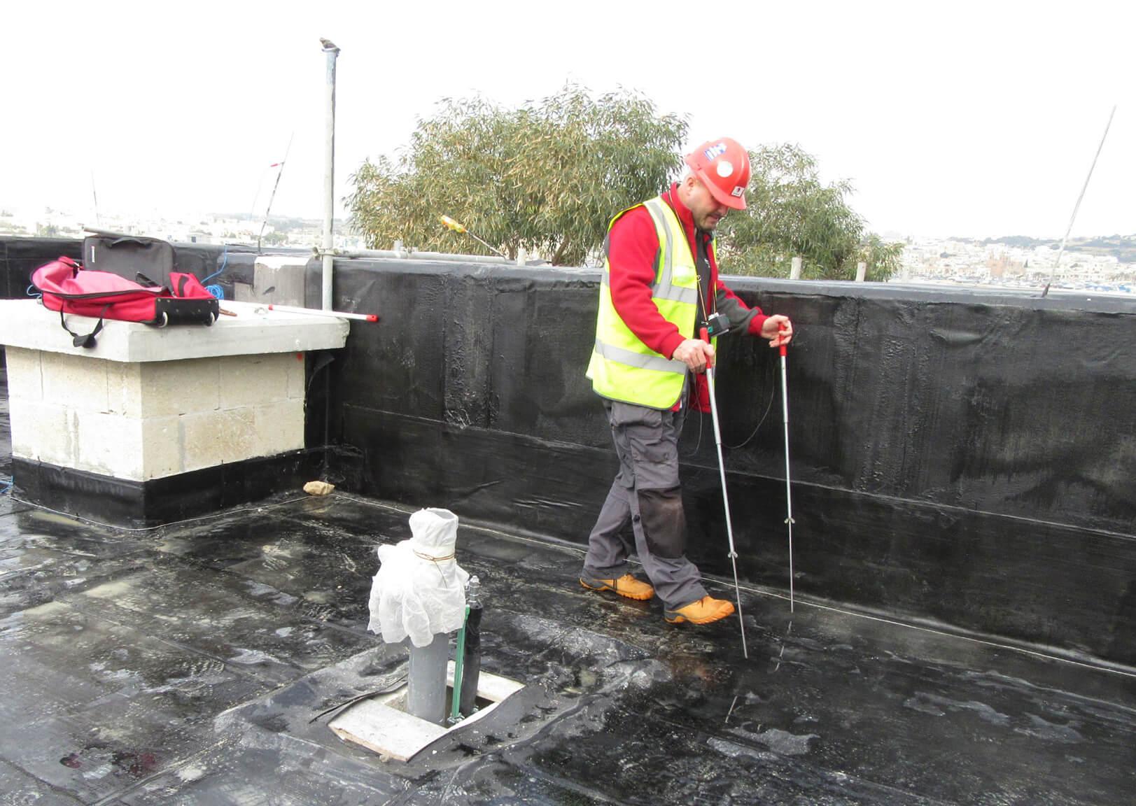 Earth Leakage Leak Detection Roof Survey