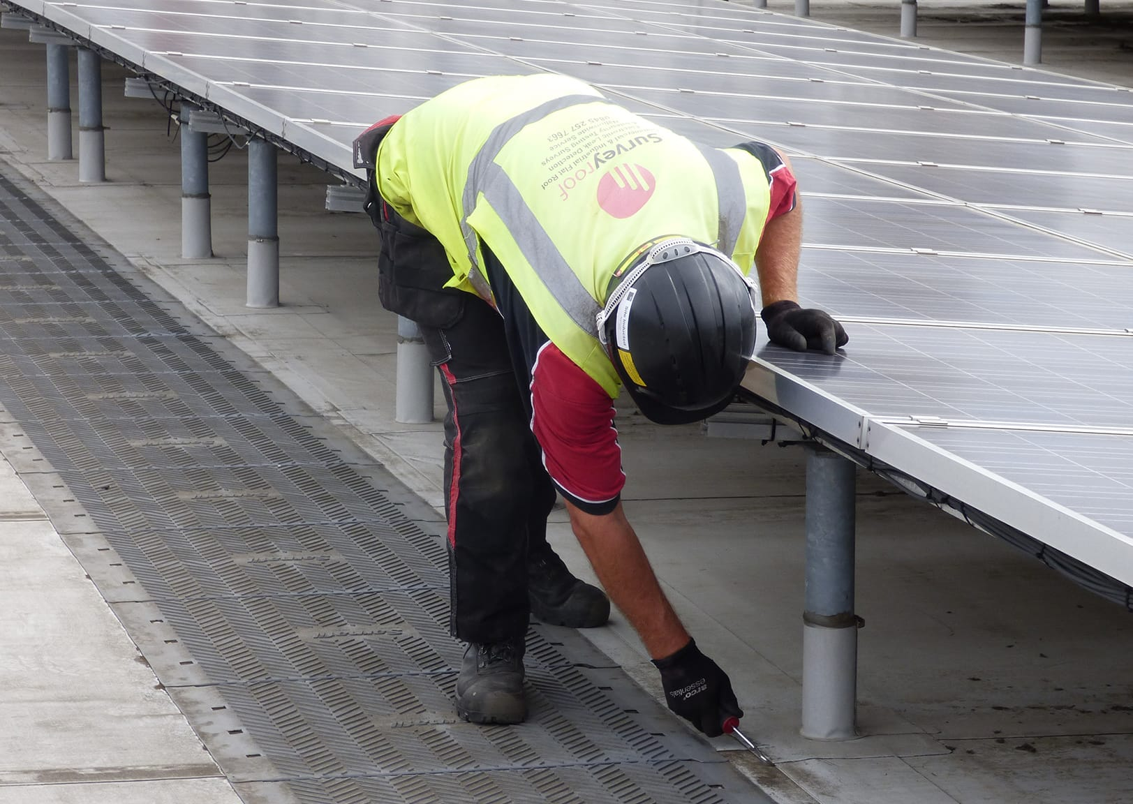 Flat Roof Survey Leak Detection